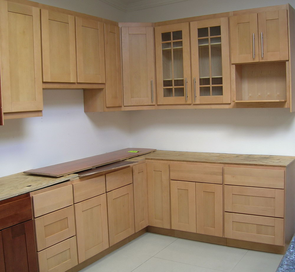 Kitchen Shelves And Cabinets