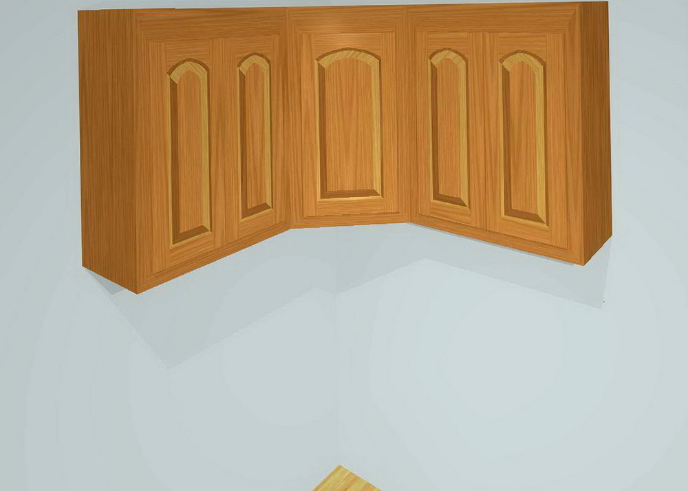 Kitchen Upper Corner Cabinet Dimensions