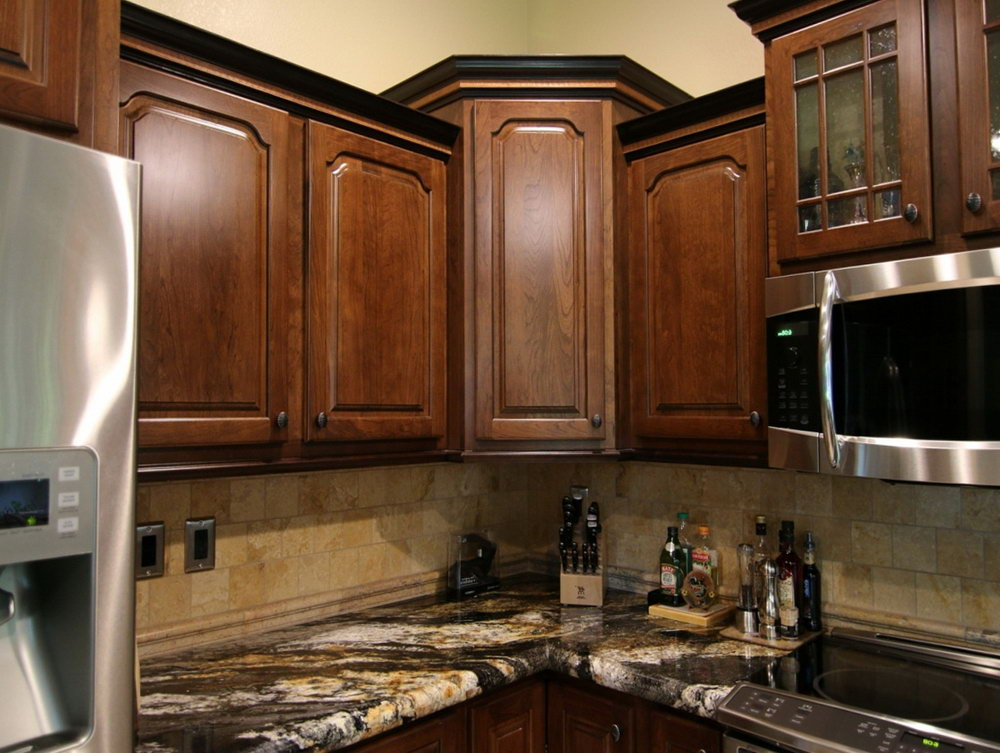 Kitchen Upper Corner Cabinets