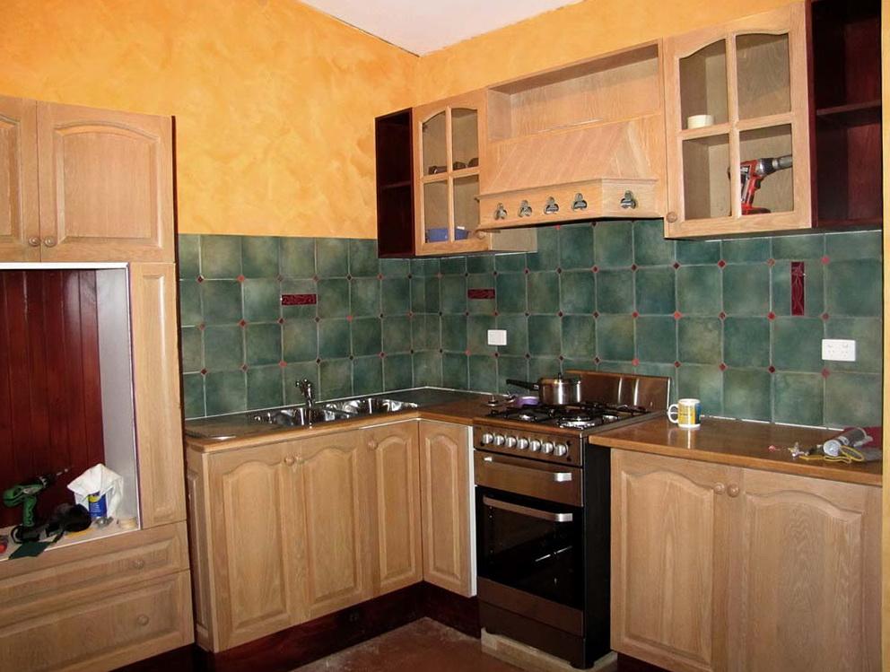 Kitchen Wall Cabinet End Shelf