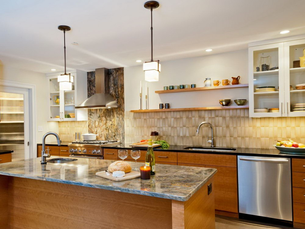Kitchen With No Overhead Cabinets