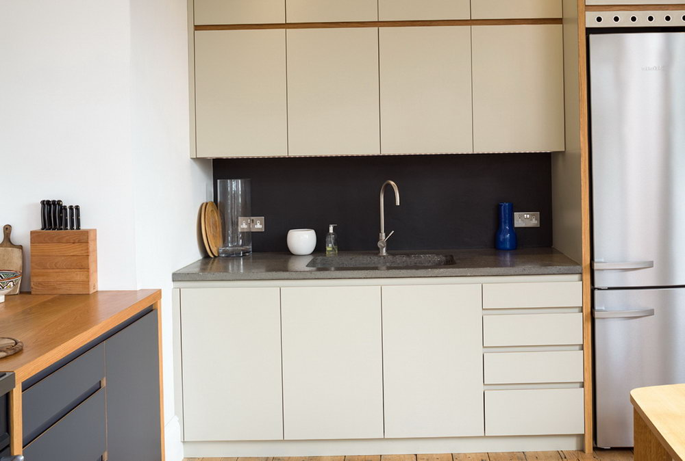 Laminated Plywood Kitchen Cabinets