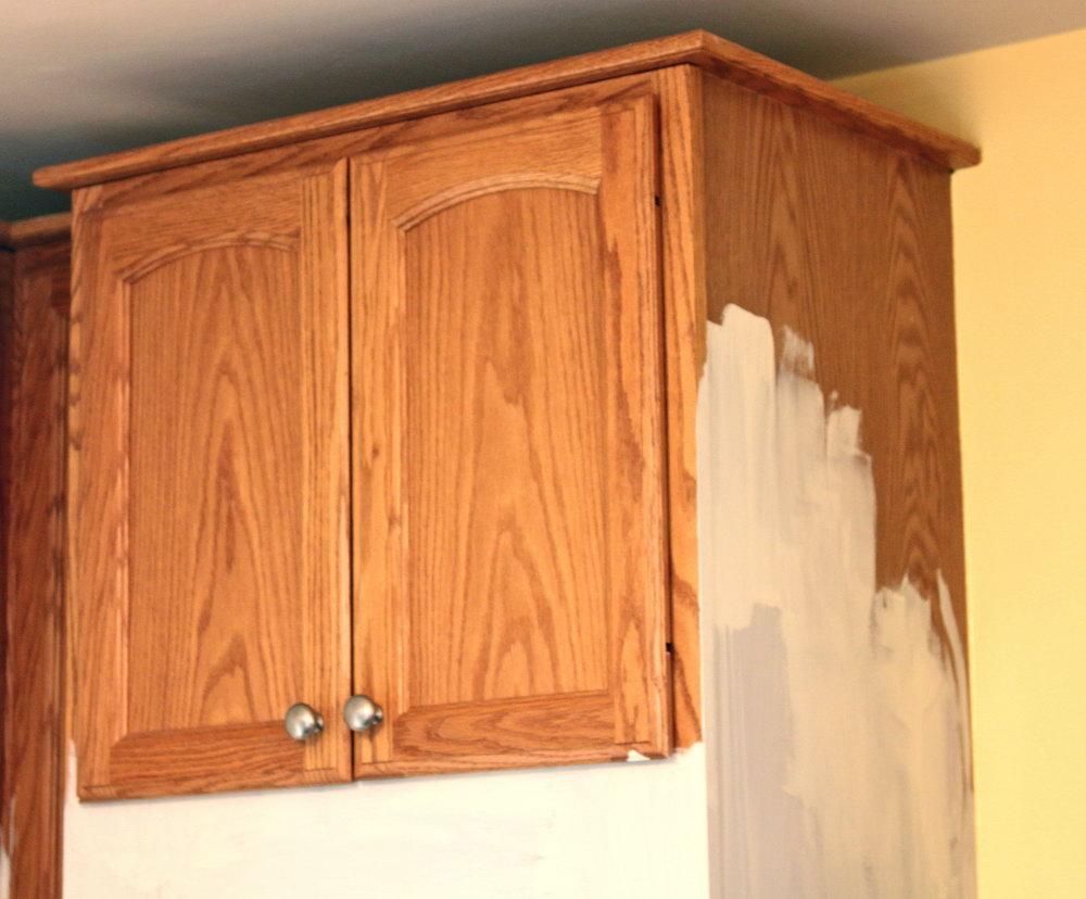 Milk Paint On Kitchen Cabinets
