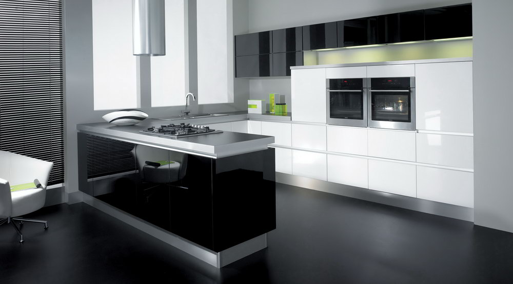 Modern L Shaped Kitchen Cabinets