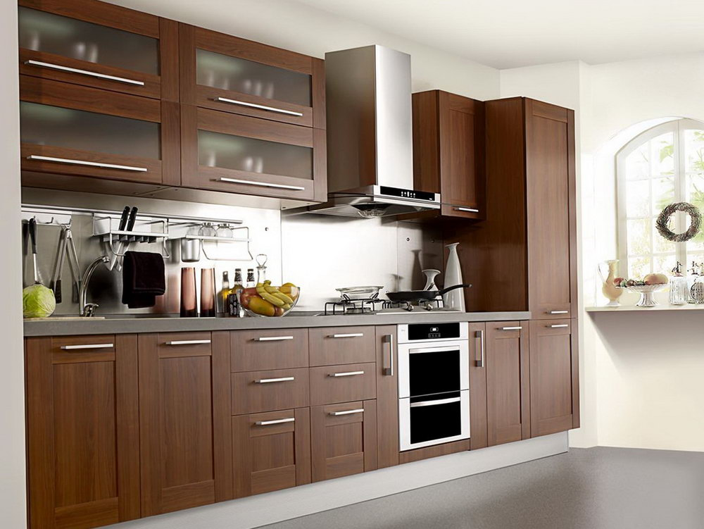 Modern Wood Kitchen Cabinets Design