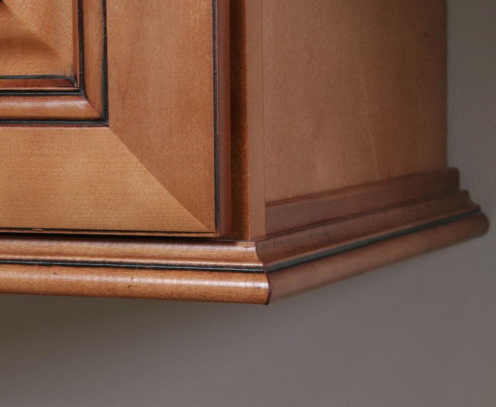 Molding Under Kitchen Cabinets