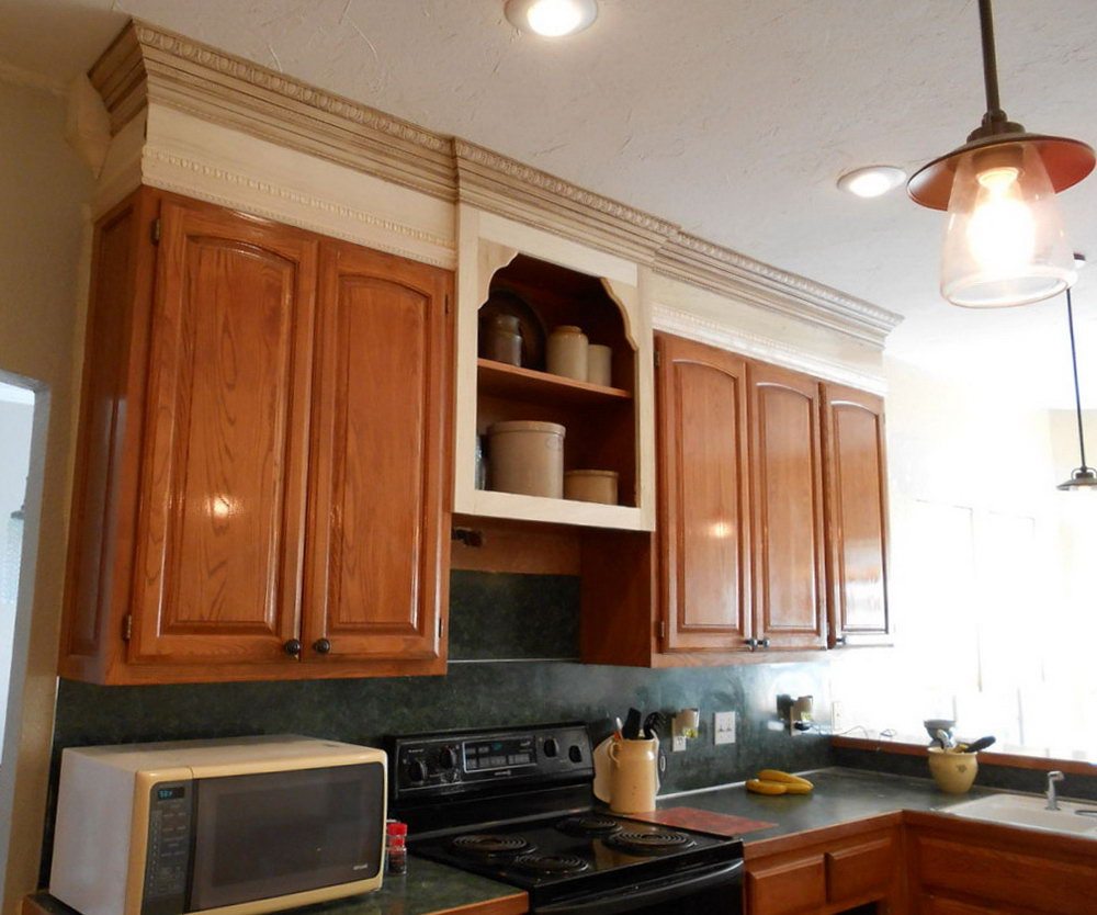 Moving Kitchen Cabinets Up