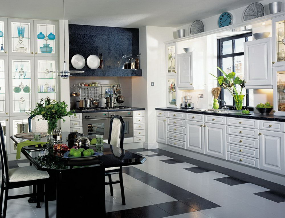 Nice White Kitchen Cabinets