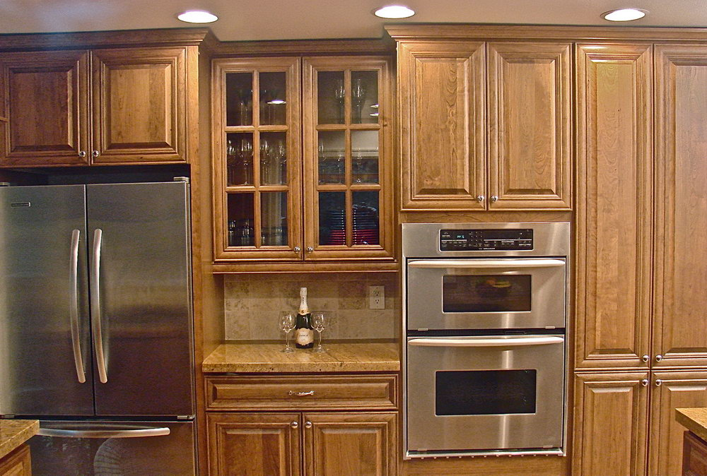 Oak Kitchen Cabinets Stained