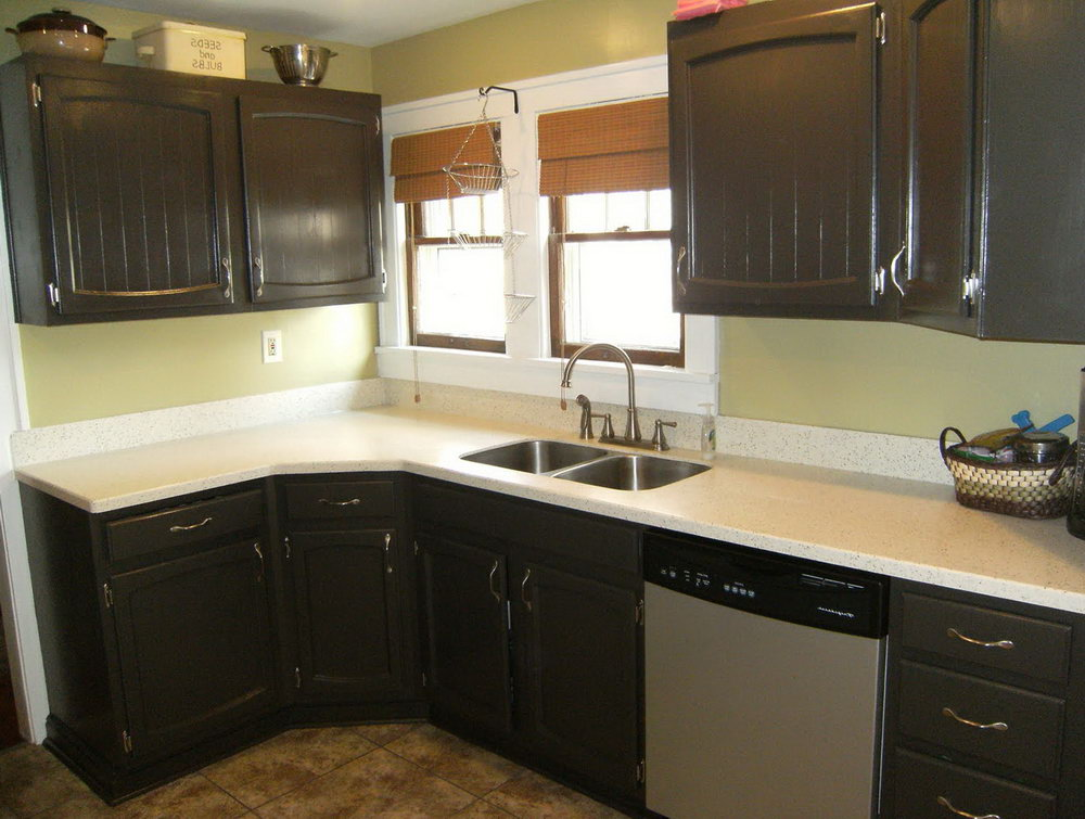 Pictures Of Repainted Kitchen Cabinets