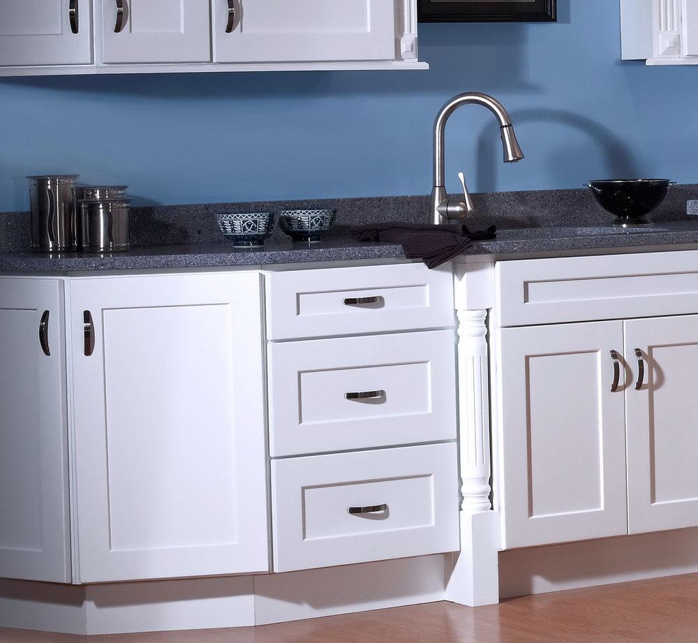 Shaker Style Kitchen Cabinet Doors White