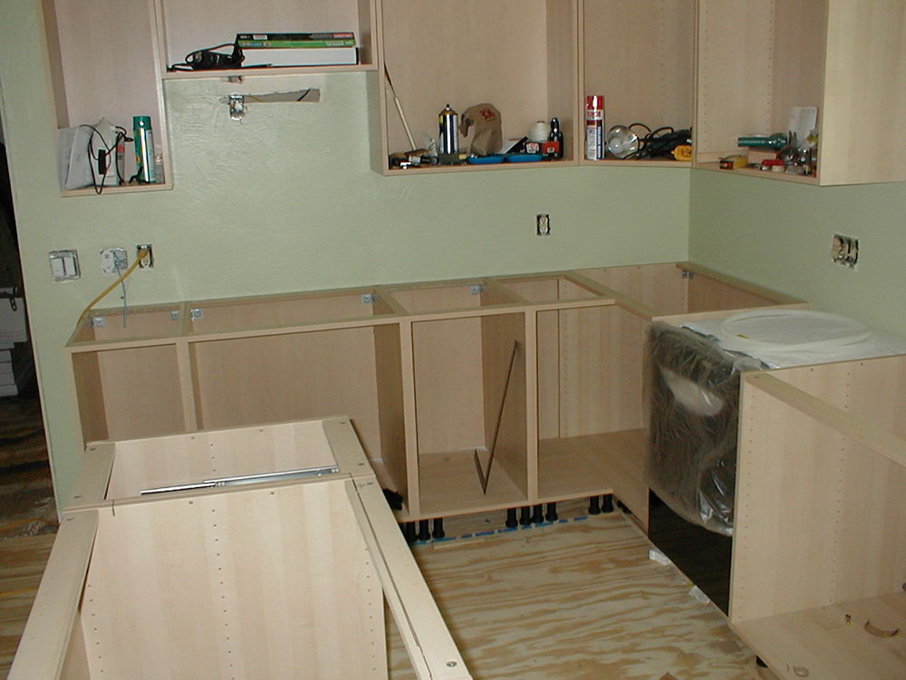 Simple Kitchen Hanging Cabinet Designs