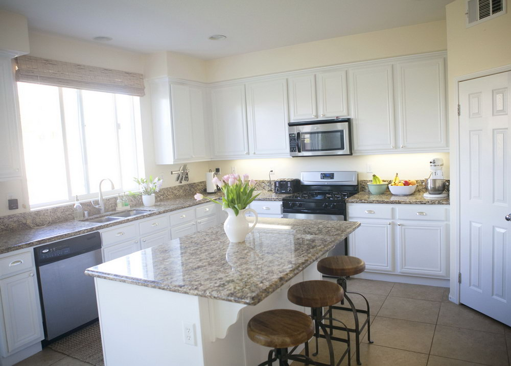 Simply White Benjamin Moore Kitchen Cabinets