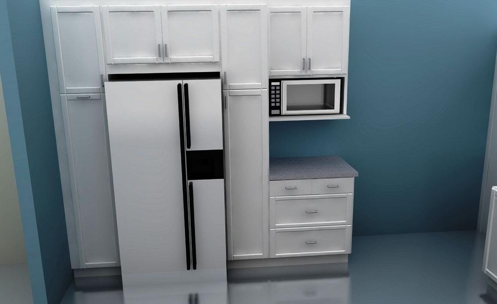 Tall Corner Kitchen Cabinets