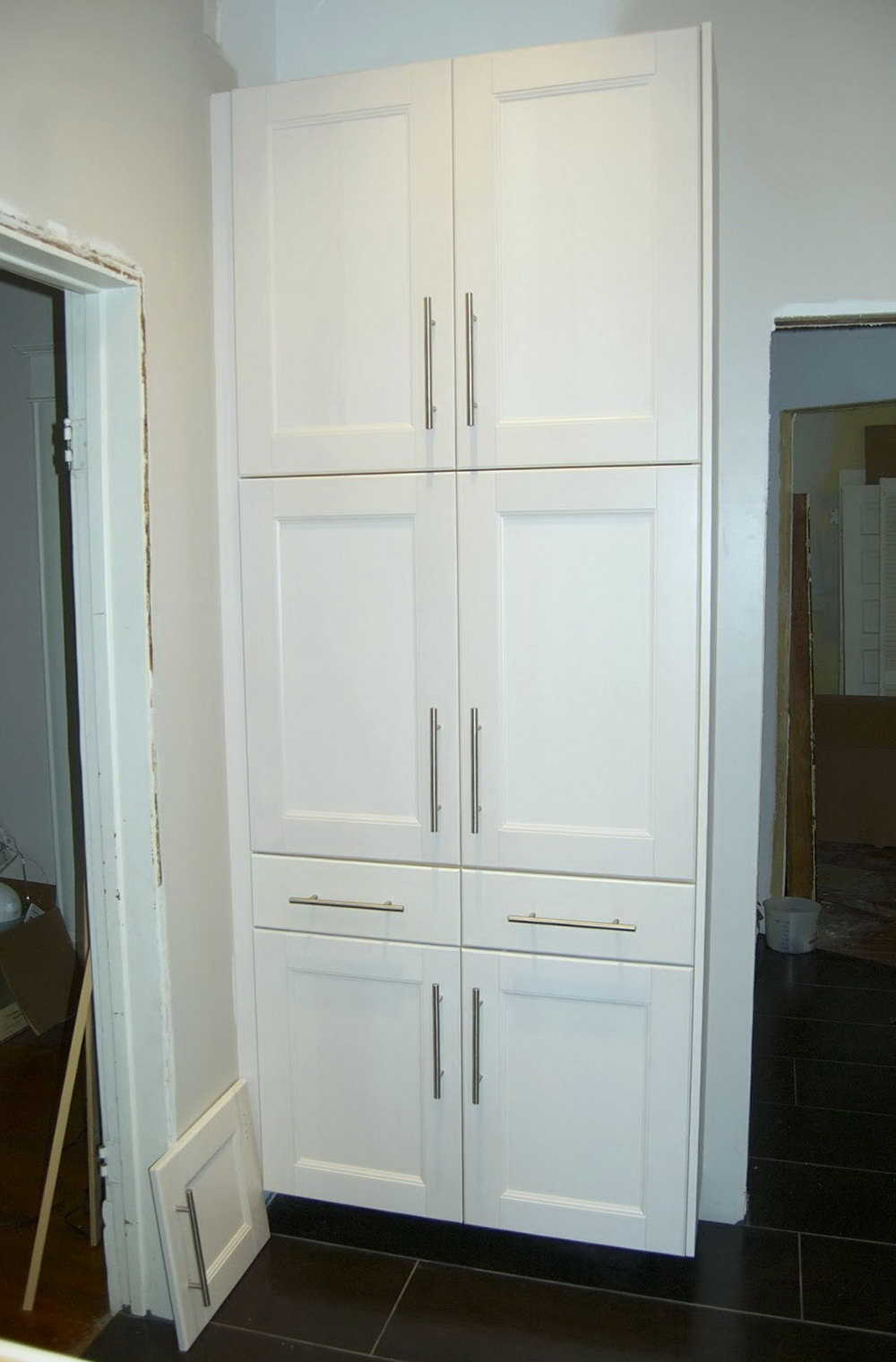 Tall Free Standing Kitchen Cabinet