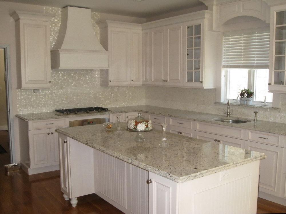 Tile Above Kitchen Cabinets