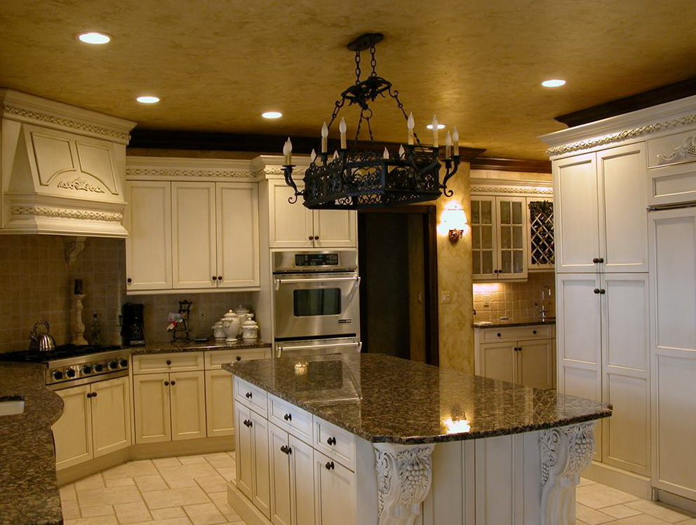 Tuscan Kitchen Cabinets Design