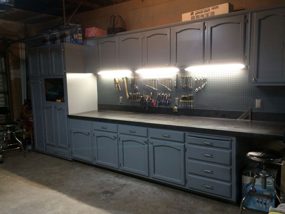 Using Kitchen Cabinets In Garage