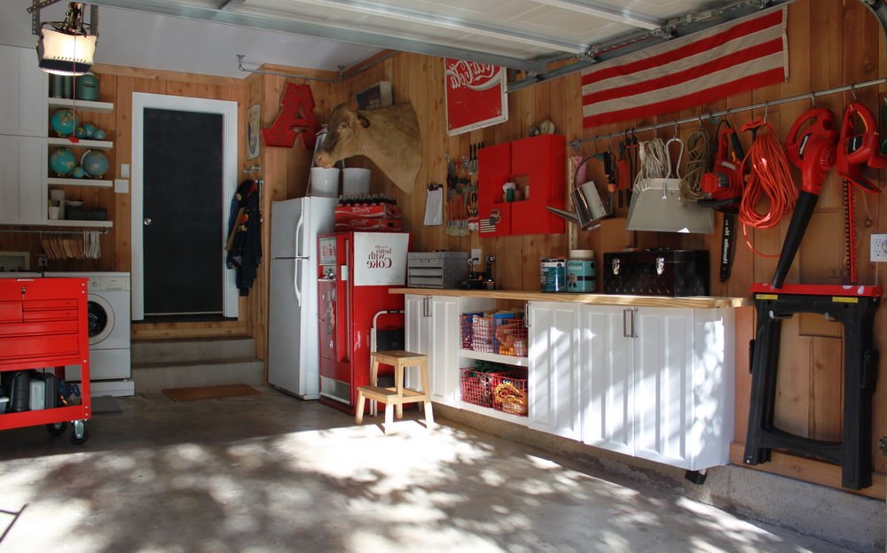 Using Old Kitchen Cabinets In Garage