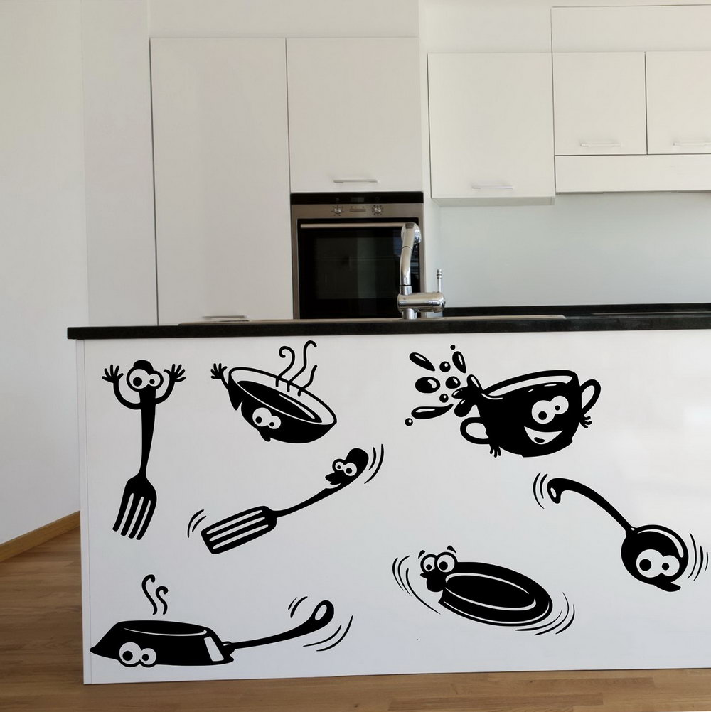 Wall Stickers For Kitchen Cabinets