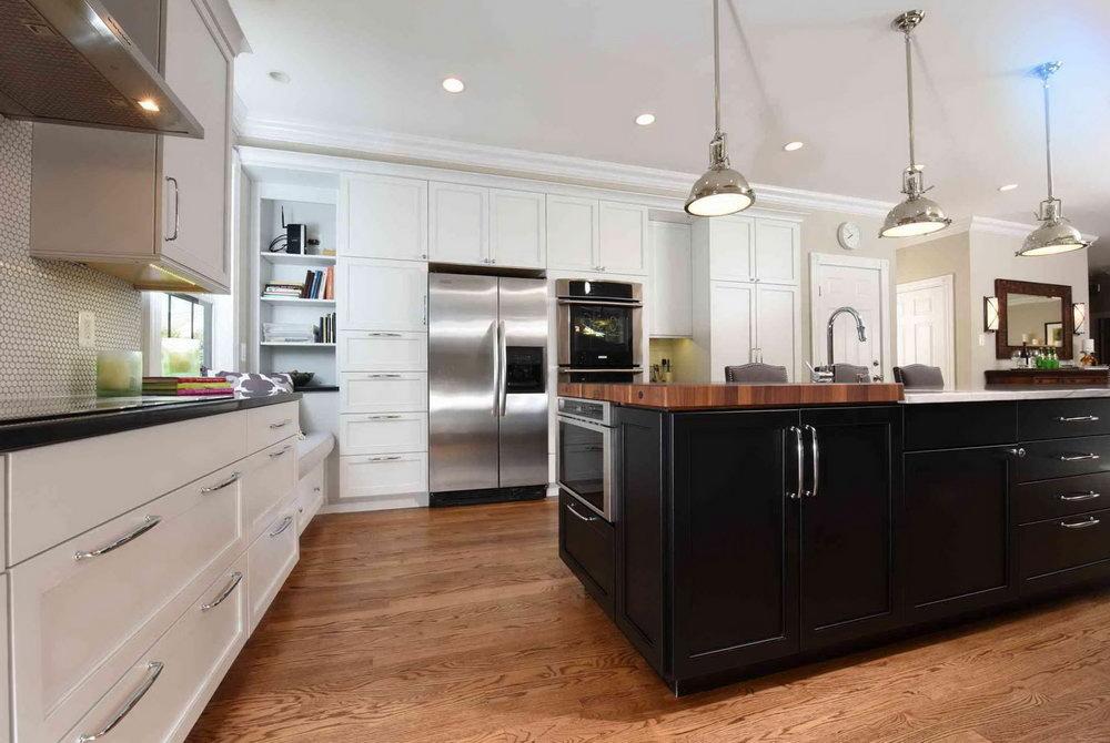 White Cabinet Kitchen Design