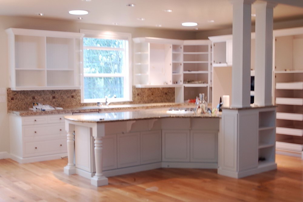 White Dove Benjamin Moore Kitchen Cabinets