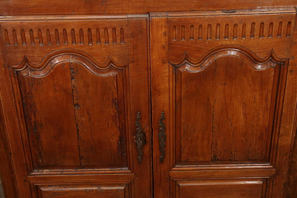 Wormy Chestnut Kitchen Cabinets