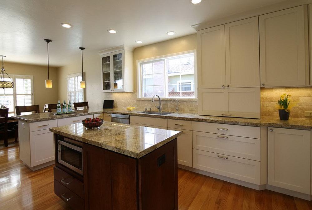 Almond Kitchen Cabinets
