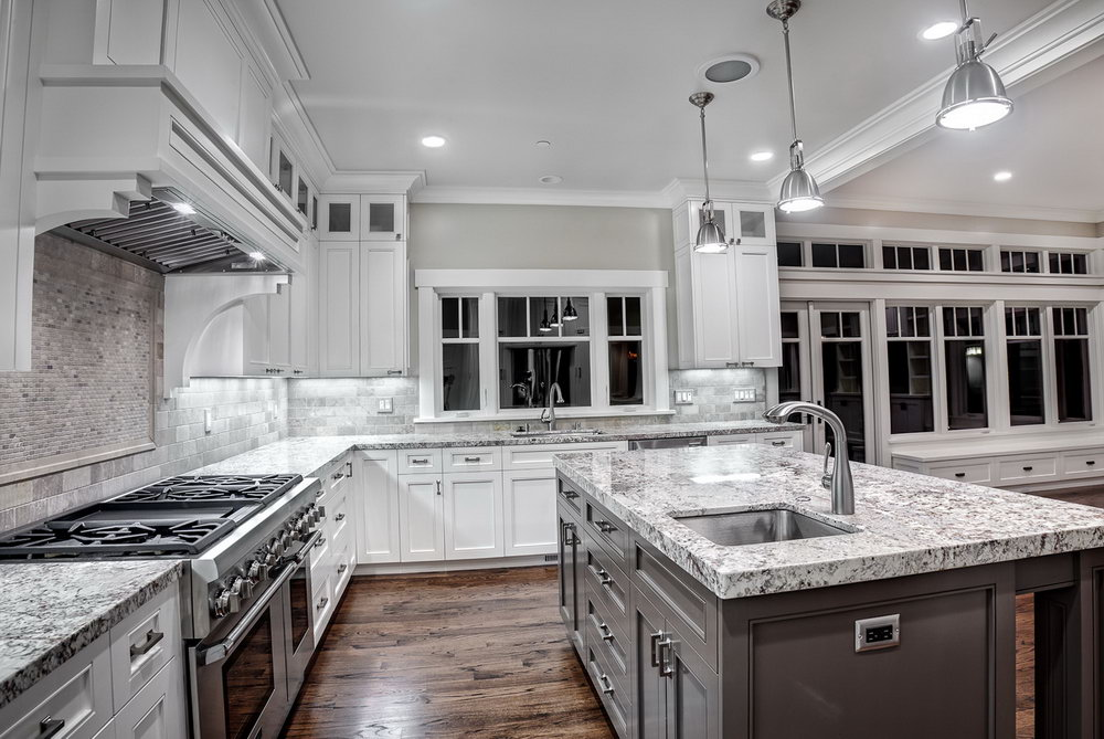 Best Granite For White Kitchen Cabinets