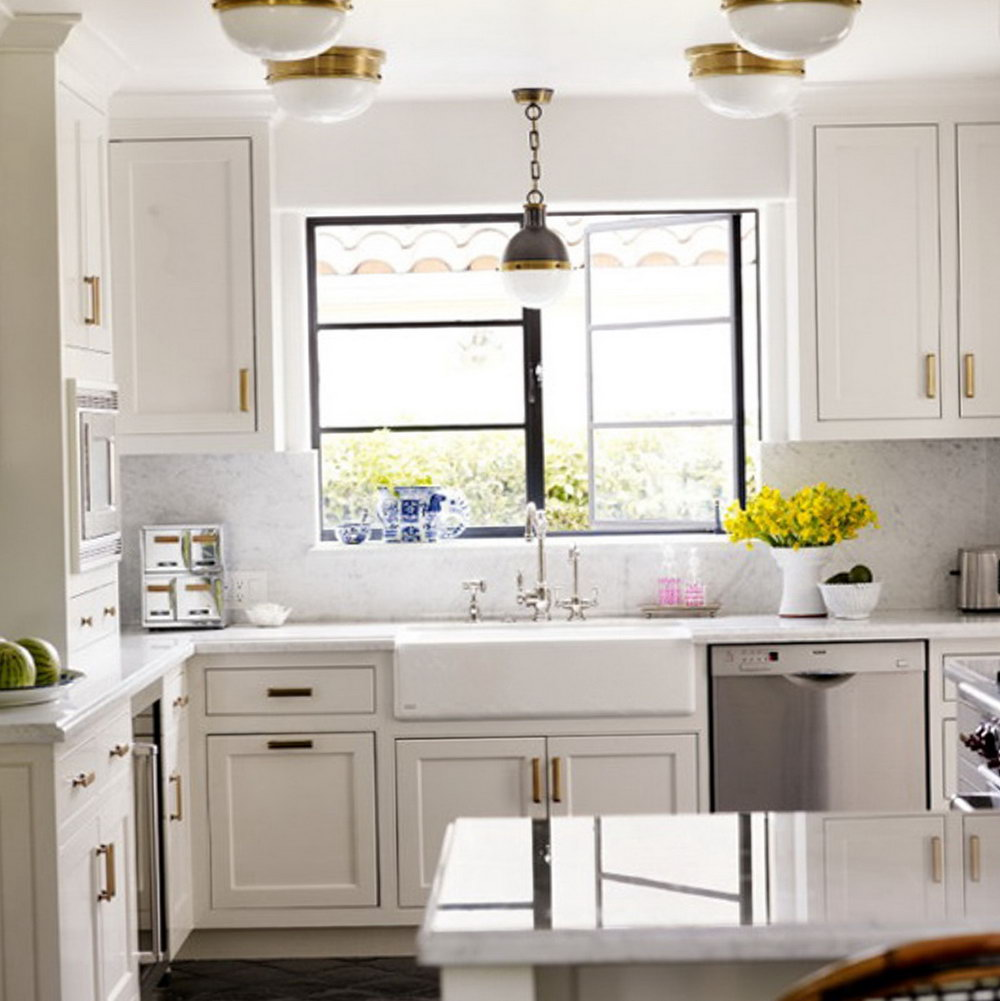 Brass Handles Kitchen Cabinets
