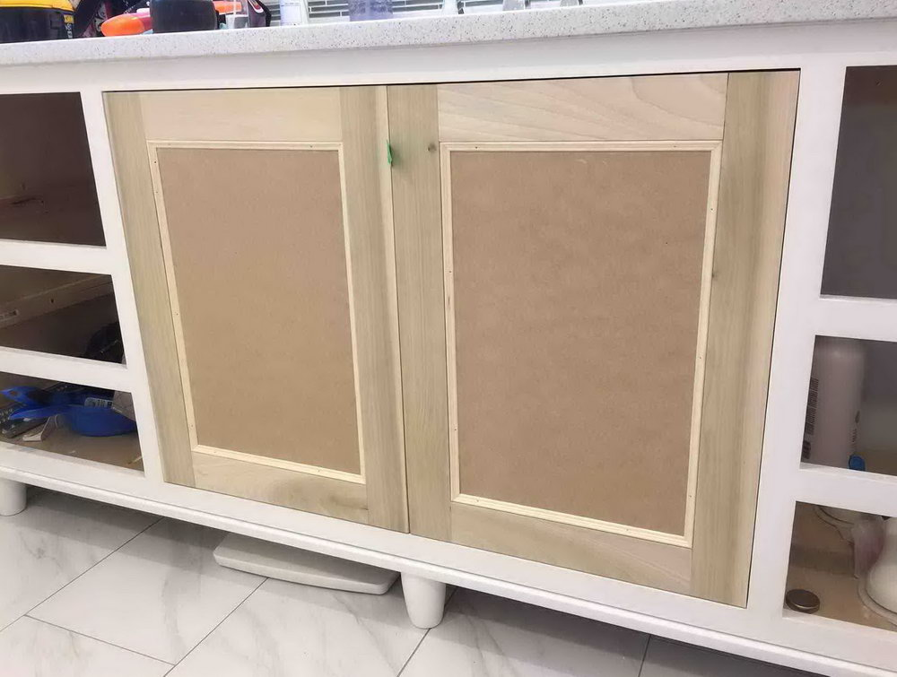 Building Kitchen Cabinet Doors