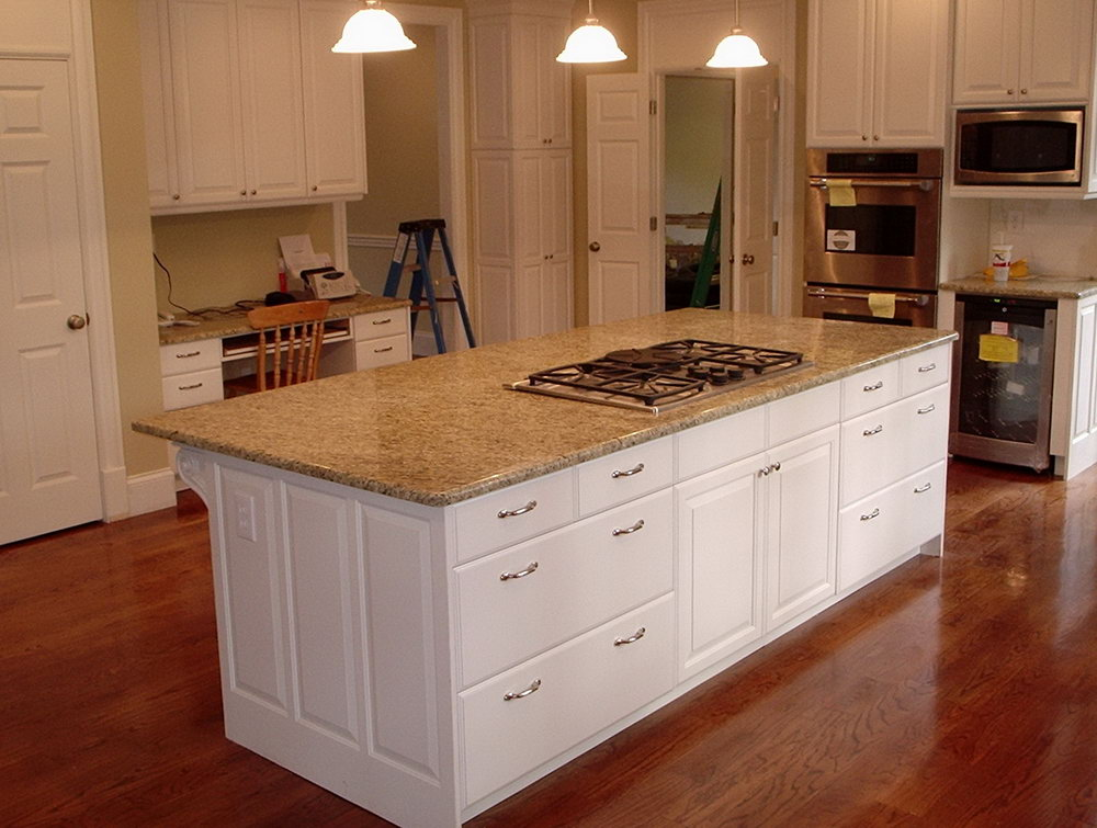 Cabinets In Kitchen Island