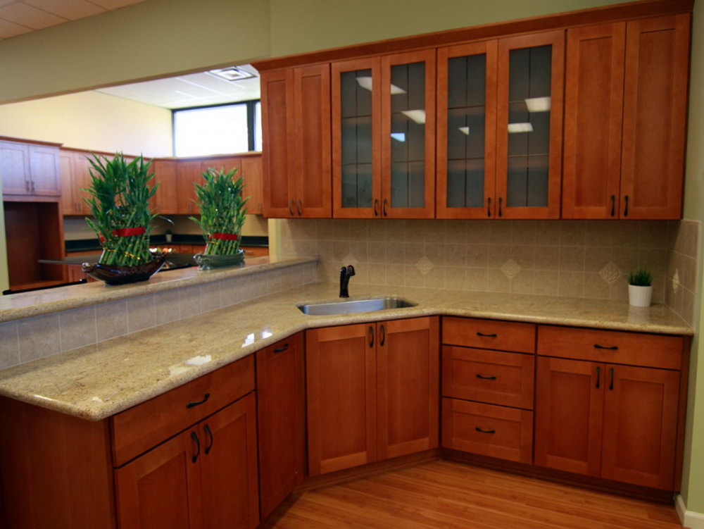 Cherry Shaker Kitchen Cabinets For Sale