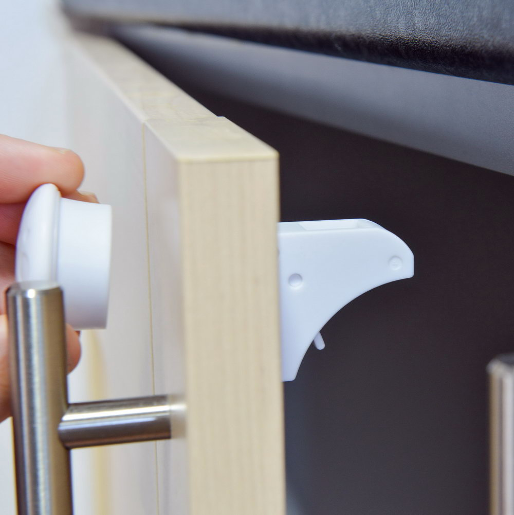 Child Proof Latches For Kitchen Cabinets