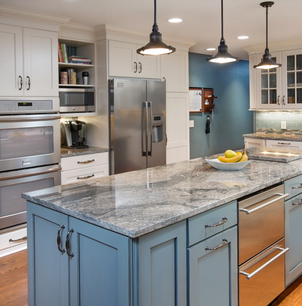 Color Combination Of Kitchen Cabinets