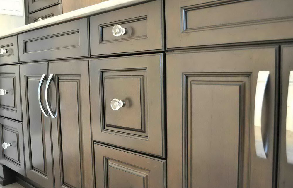 Concealed Handles Kitchen Cabinets