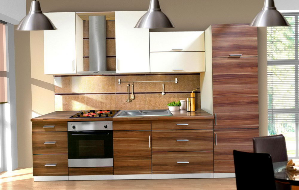 Contemporary Kitchens With Wood Cabinets