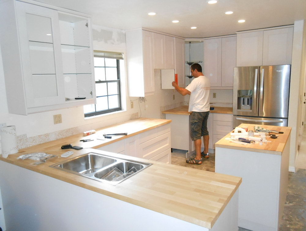 Cost Of Installing Kitchen Cabinets