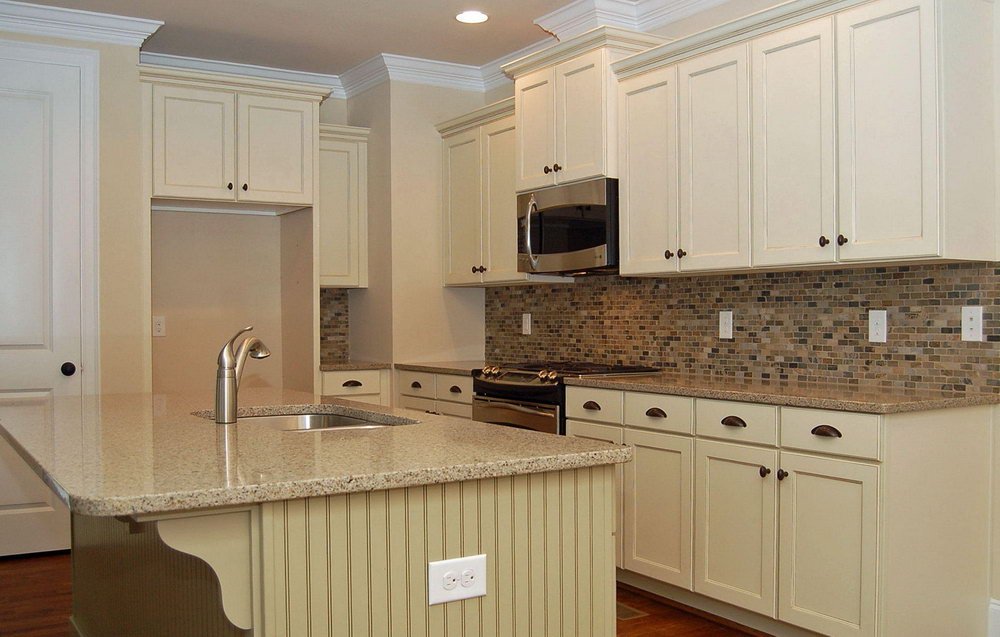 Countertop For White Kitchen Cabinets
