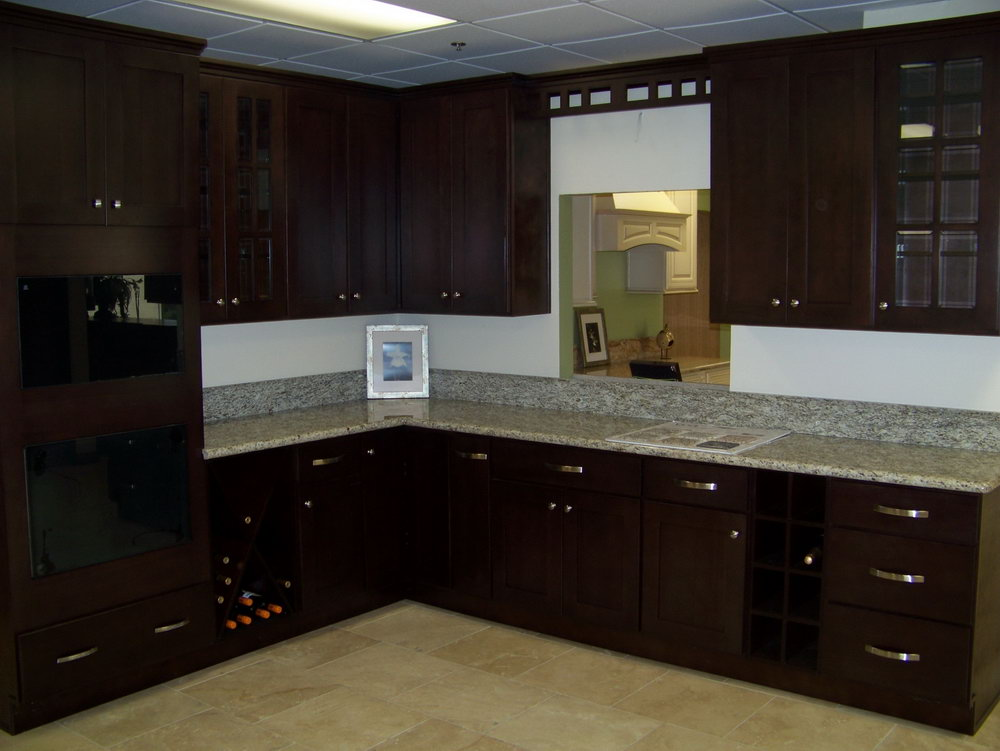Dark Espresso Kitchen Cabinets