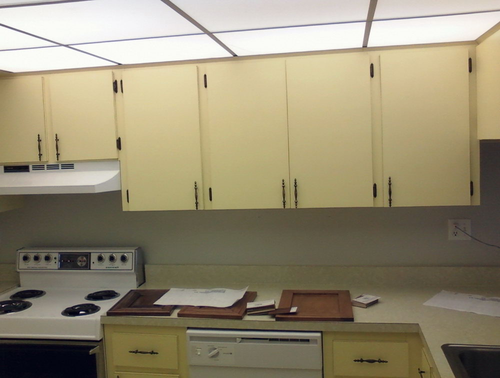 Diy Refinishing Kitchen Cabinets Video