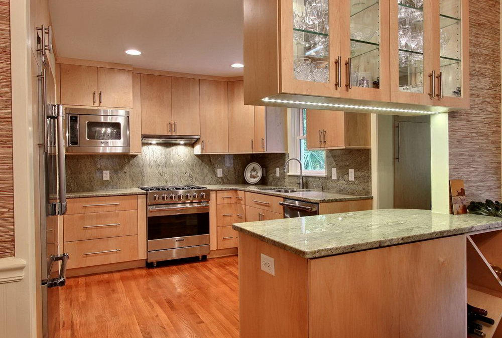 Double Sided Kitchen Cabinets
