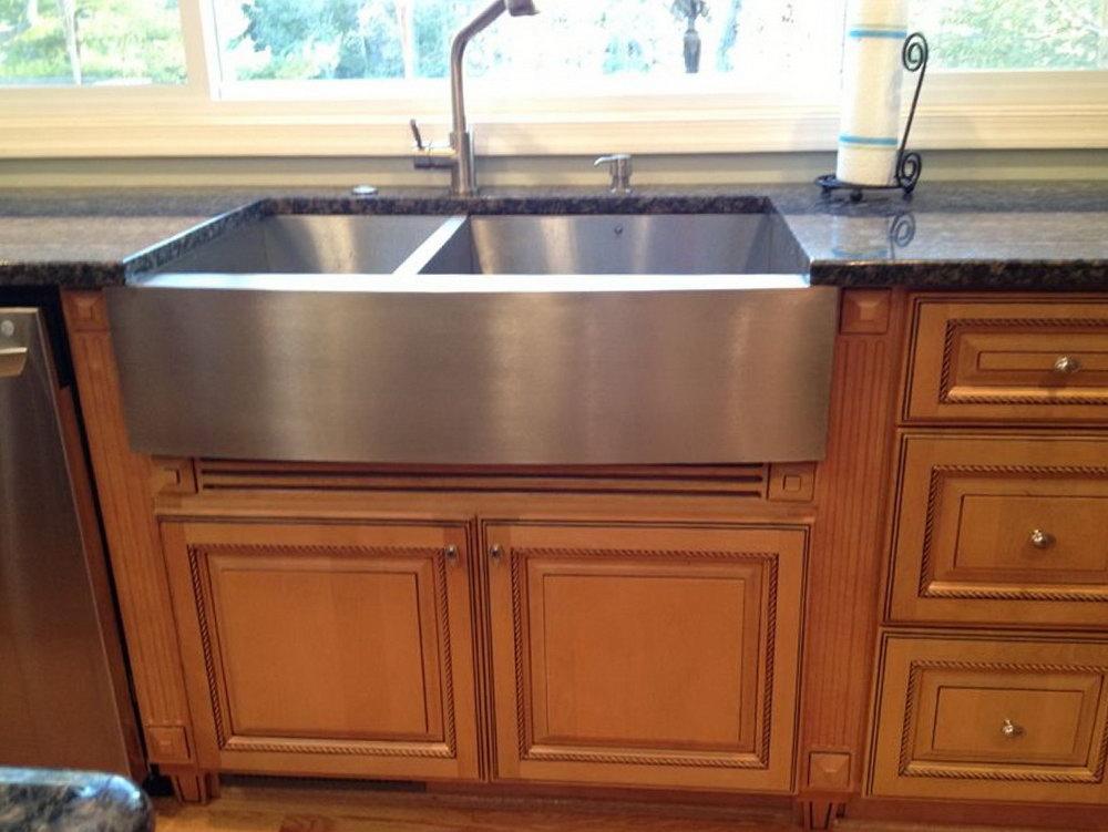 Farmhouse Kitchen Sink Base Cabinet