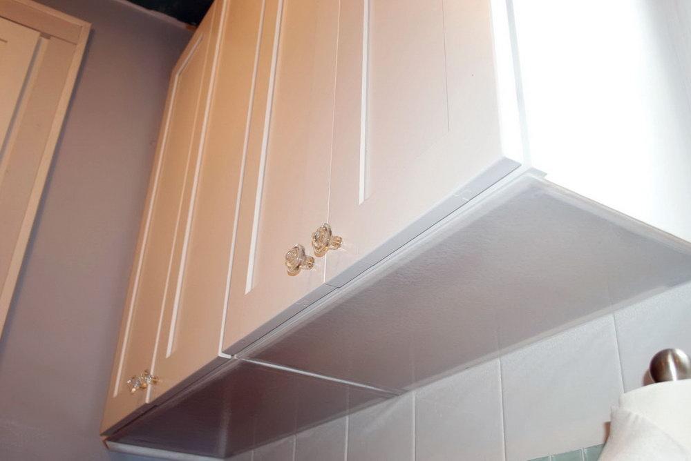 Finishing Underside Of Kitchen Cabinets