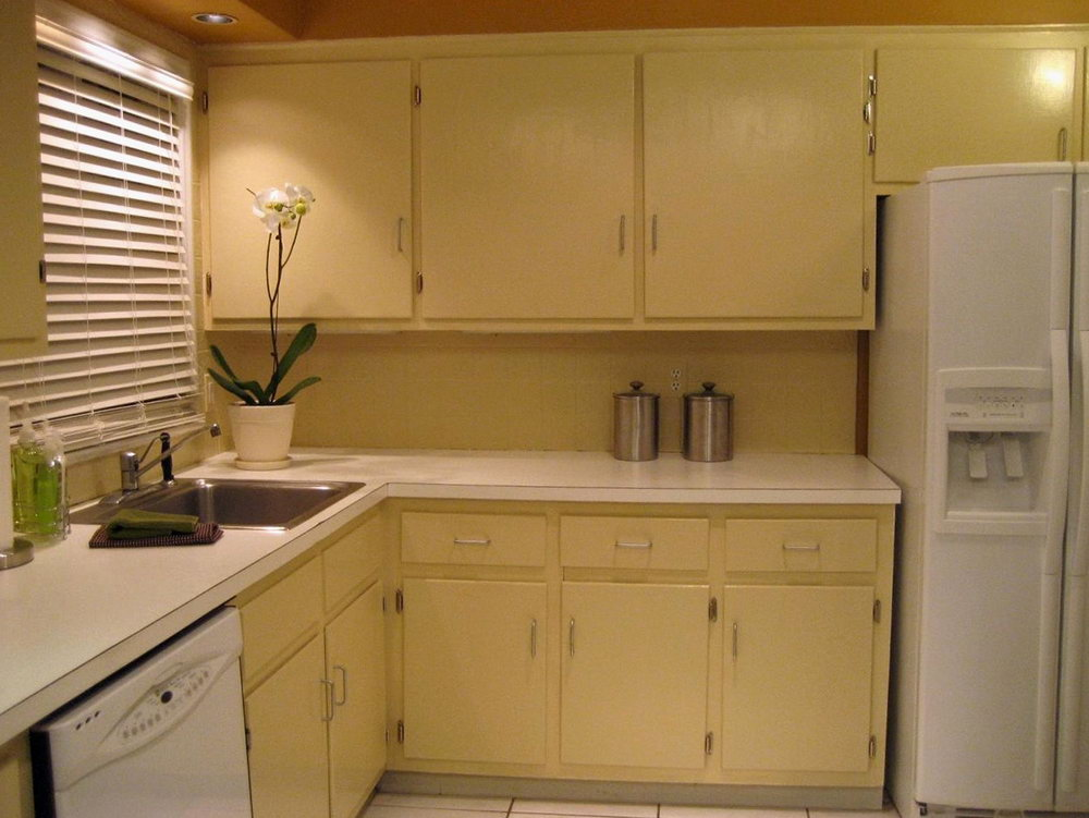 Flat Kitchen Cabinet Doors Makeover