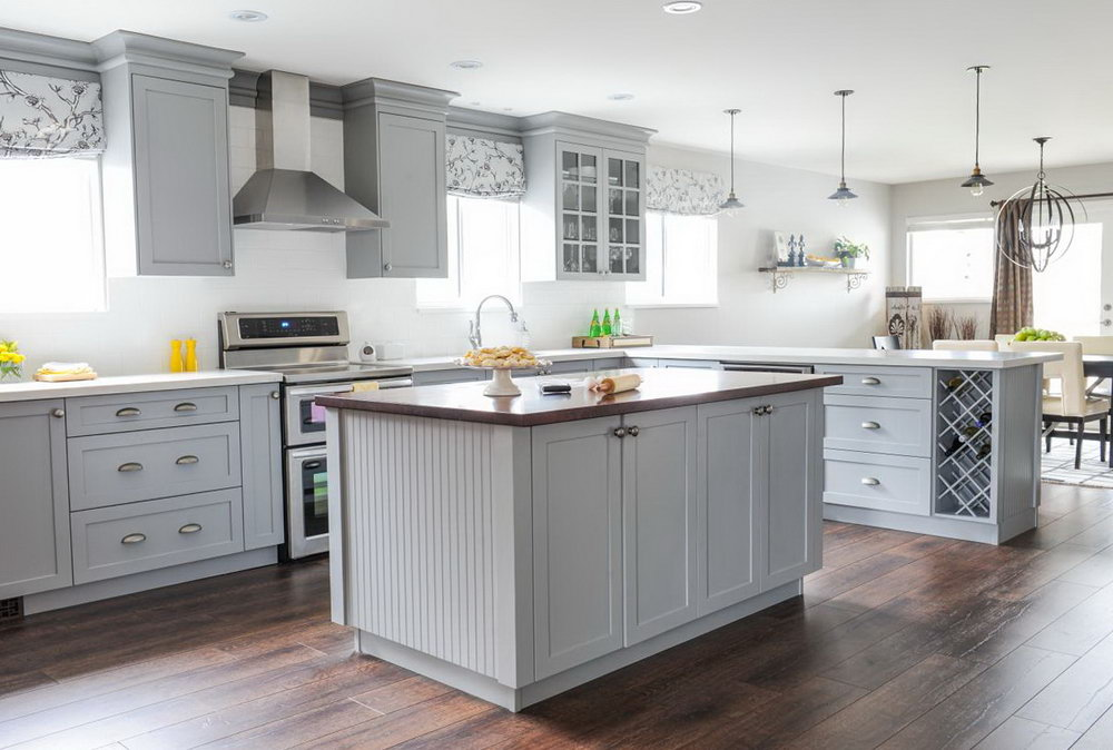 Grey Kitchen Cabinets What Colour Walls