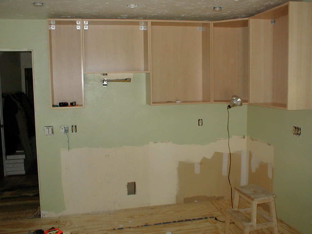 Hang Kitchen Cabinets From Ceiling