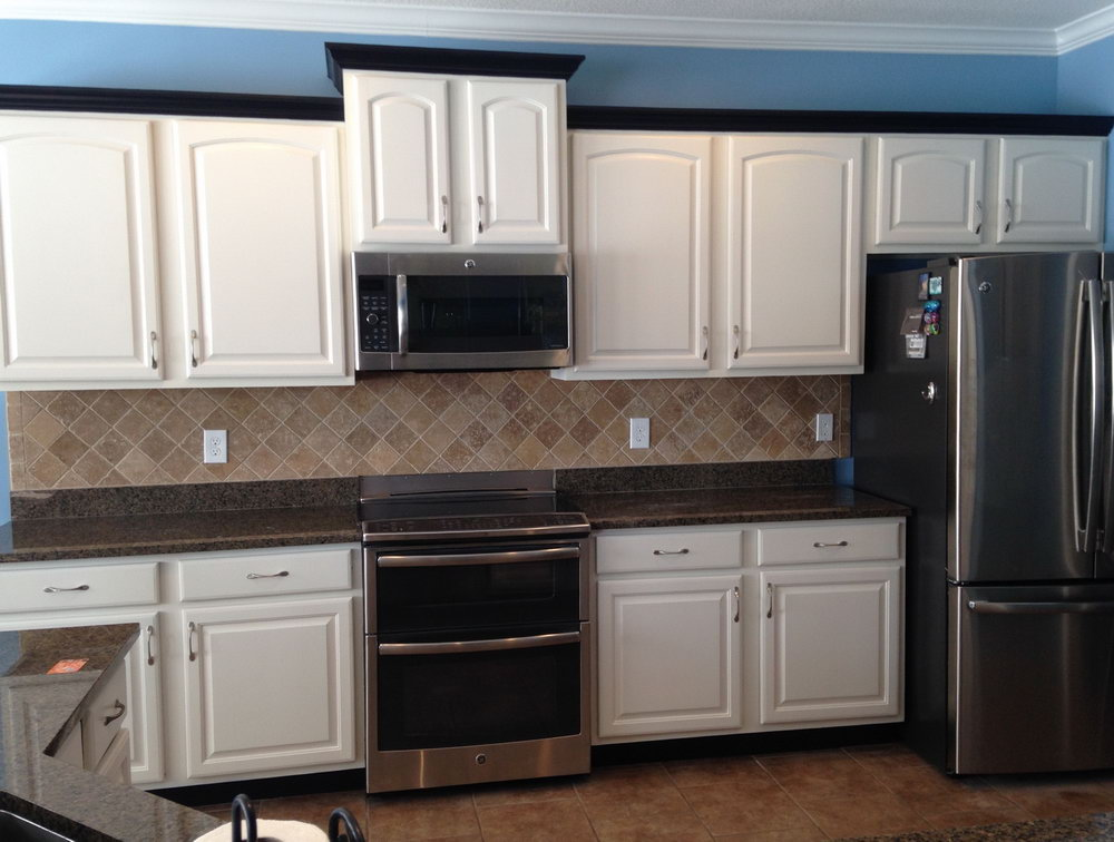 How To Change Kitchen Cabinets To White