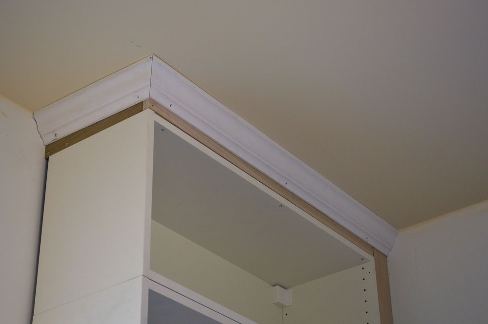 How To Install Kitchen Cabinet Crown Molding