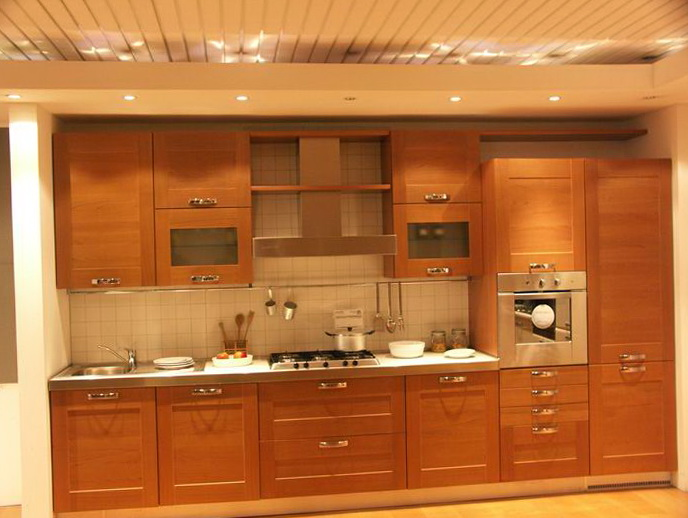 Images Of Kitchens With Wood Cabinets